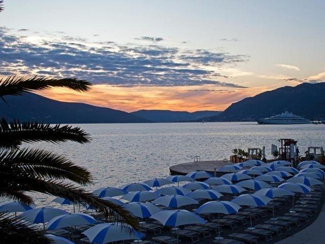 Tivat - Hotel Palma **** - strand