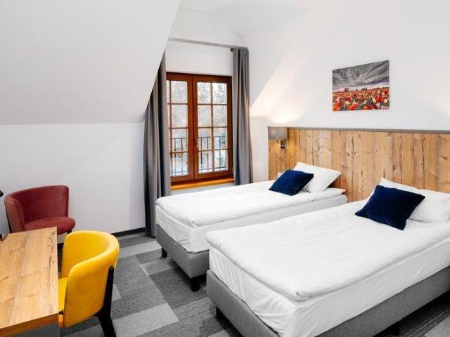 Elblag - Hotel Nowa Holandia - voorbeeldkamer