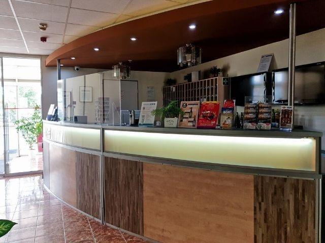 Boedapest - Hotel Canada - receptie