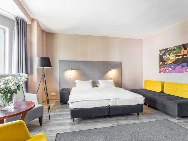 Slubice - Hotel Kaliski - voorbeeldkamer