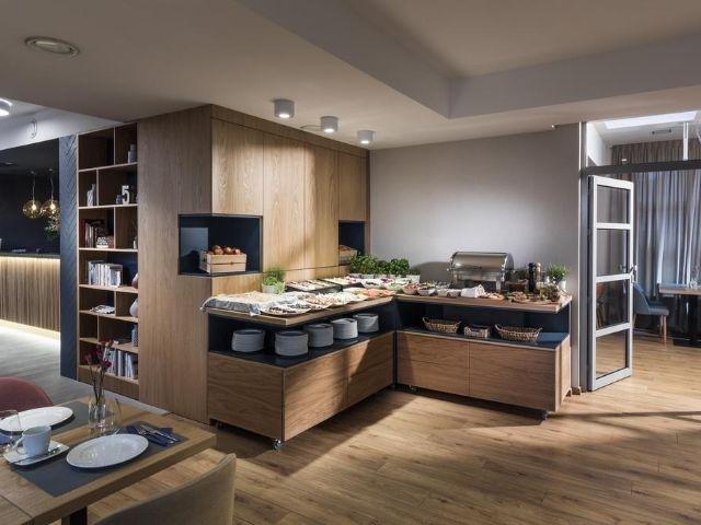 Gdynia - Hotel Antares - ontbijtbuffet