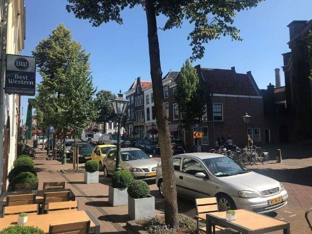 Leiden - Best Western Hotel Leiden - hotel aanzicht