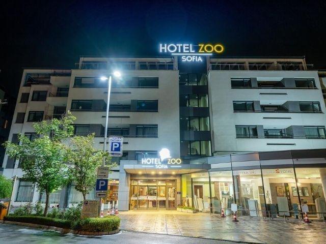 Sofia - Hotel Zoo Sofia - aanzicht hotel