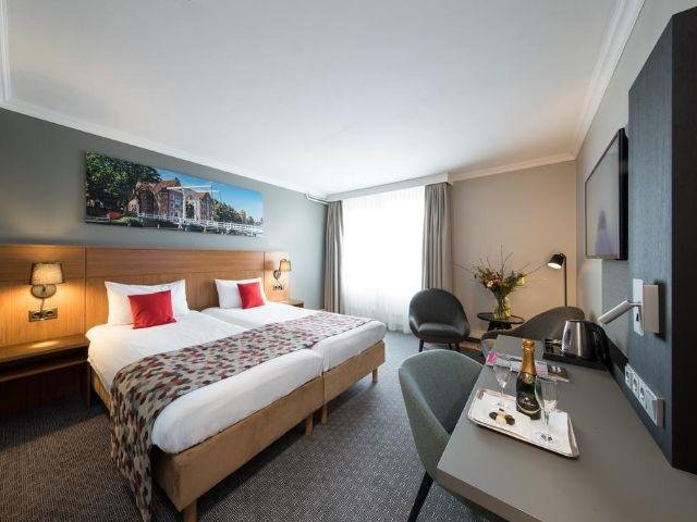 Zwolle - Bilderberg Grand Hotel Wientjes- voorbeeld kamer