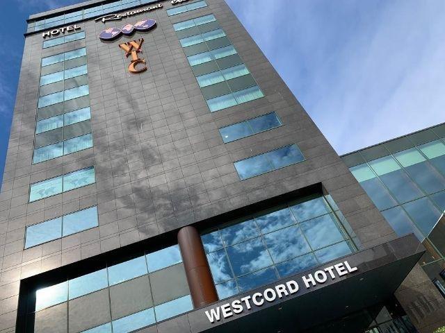 Leeuwarden - Westcord WTC Hotel Leeuwarden - hotel aanzicht