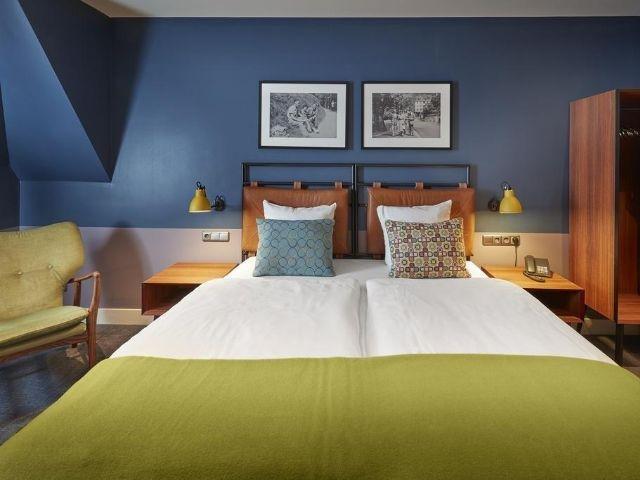 Haarlem - Hotel Lion d'Or - voorbeeld kamer