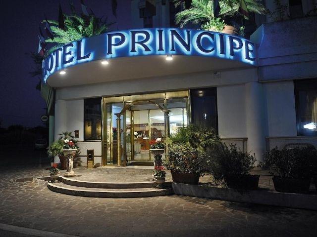 Pomezia - Hotel Principe - entree
