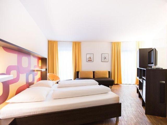 Krems an der Donau - Hotel Arte - voorbeeld kamer