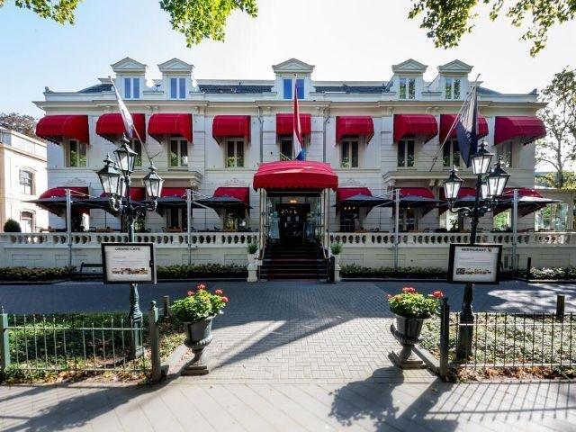 Zwolle - Bilderberg Grand Hotel Wientjes- hotel aanzicht