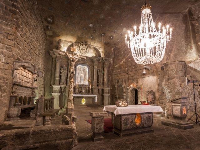 Polen - Zoutmijnen van Wieliczka