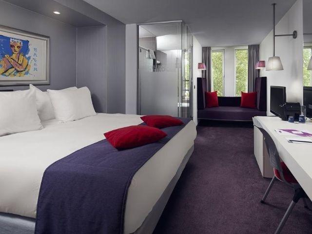Amsterdam - Westcord Art Hotel - voorbeeld kamer