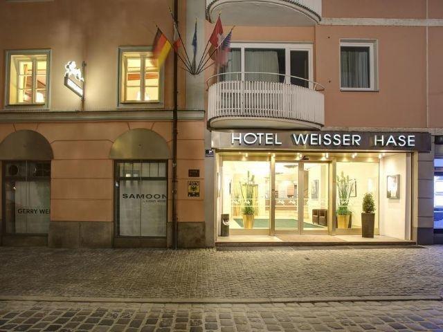 Passau - Hotel Weisser Hase - hotel aanzicht