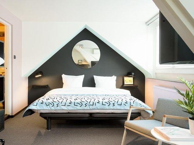 Maastricht - Hotel The Dutch - voorbeeld kamer