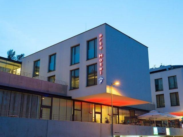 Krems an der Donau - Hotel Arte - hotel aanzicht