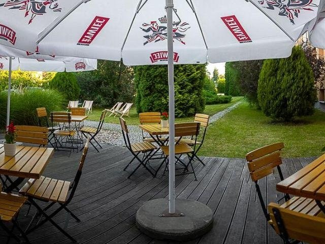 Wrocław - Hotel Bacero *** - terras