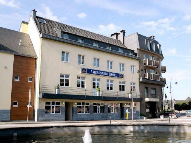 Eupen - Ambassador Bosten Hotel - hotel aanzicht