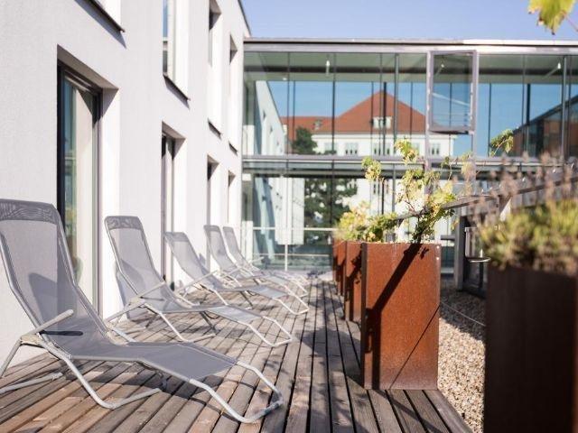 Krems an der Donau - Hotel Arte - tuin
