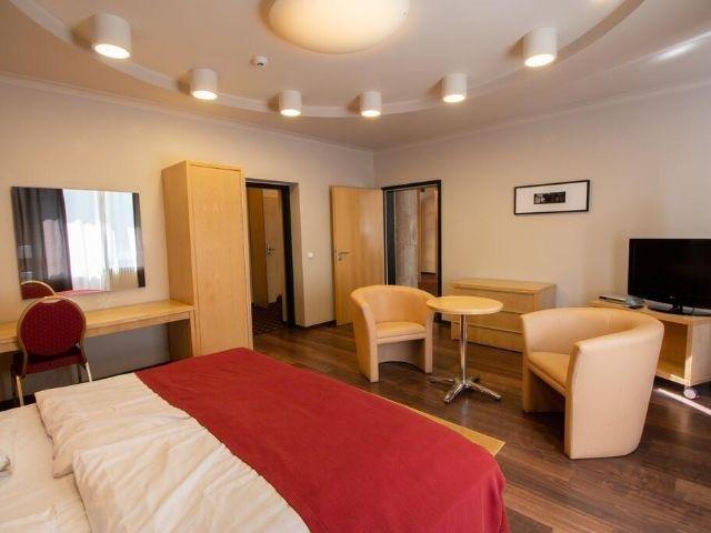 Pécs - Hotel Laterum - voorbeeldkamer