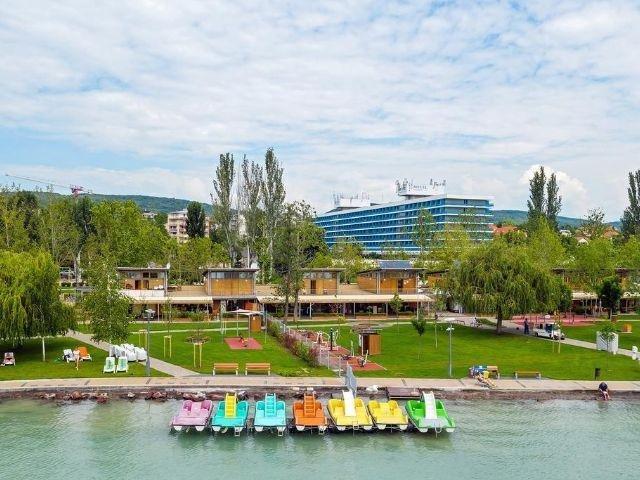 Balatonfüred - Hotel Annabella - aanzicht hotel