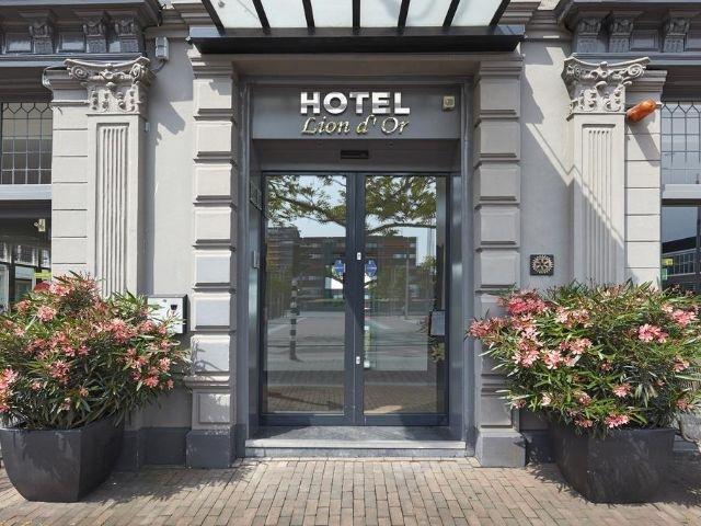 Haarlem - Hotel Lion d'Or - hotel aanzicht