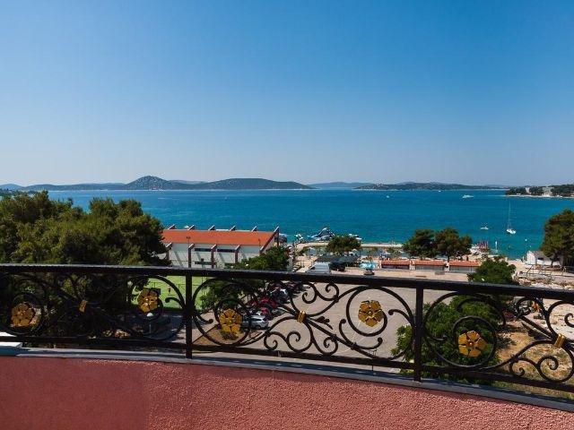 Vodice - Hotel Miramare **** - uitzicht