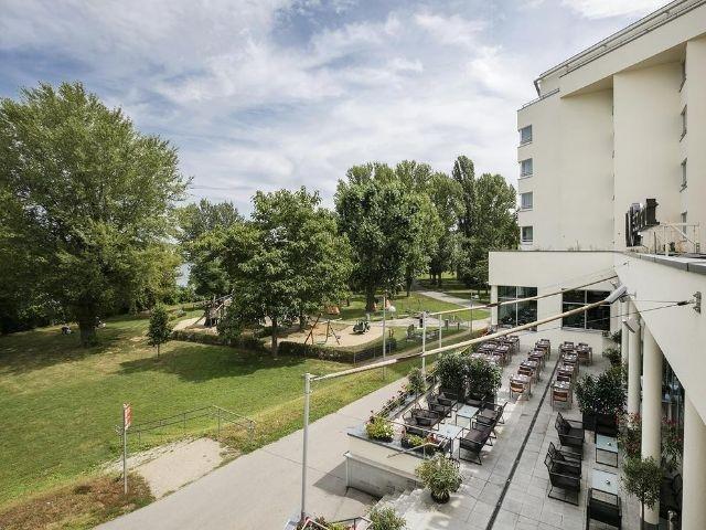Wenen - Hotel Kaiserwasser - hotel aanzicht