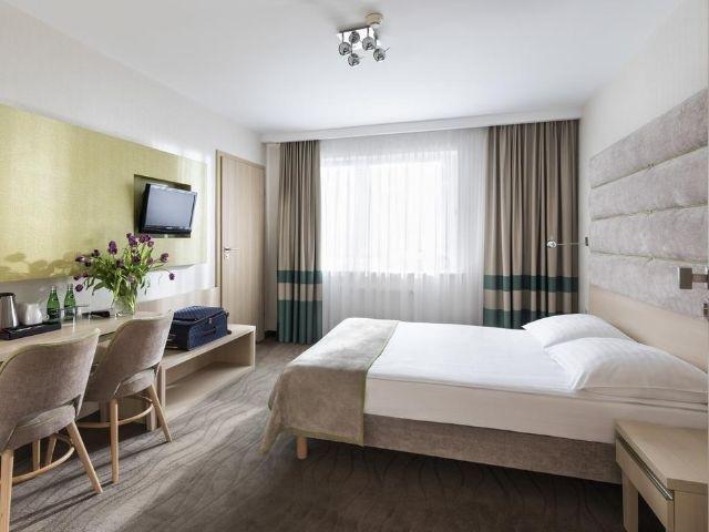 Gdynia - Hotel Antares - voorbeeldkamer