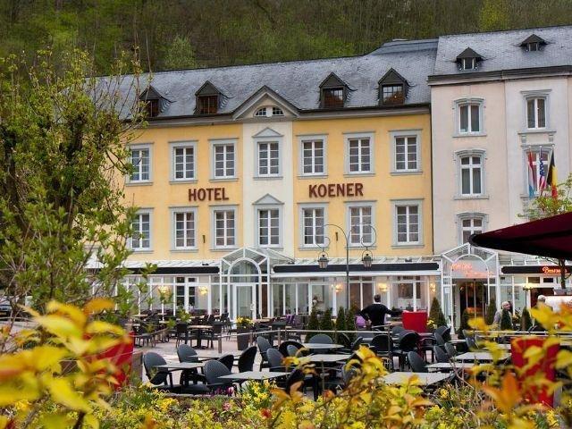 Clervaux - Hotel Koener - hotel aanzicht