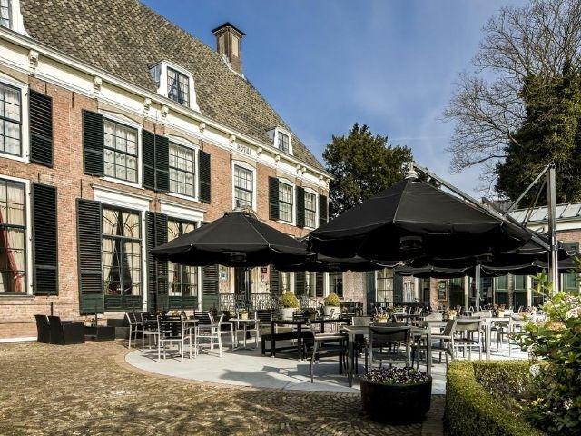 Zutphen - Hampshire Hotel 's Gravenhof Zutphen - terras