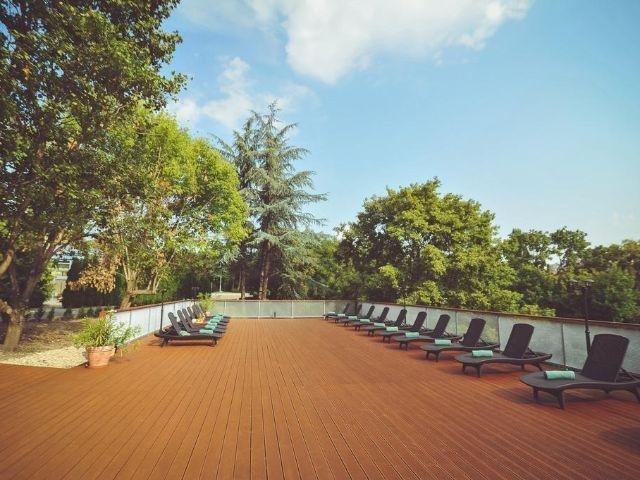 Eger - Hotel Eger & Park - zonneterras