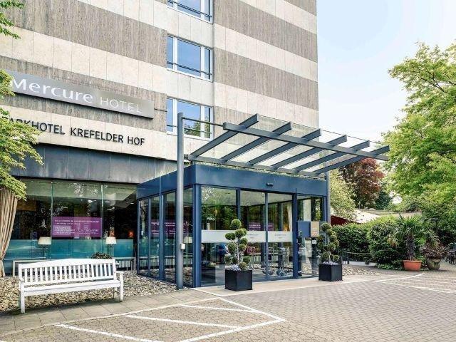 Krefeld - Mercure Parkhotel Krefelder Hof - hotel aanzicht