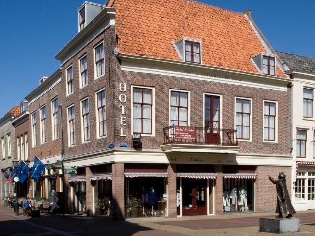 Brielle - Fletcher Hotel de Zalm - hotel aanzicht