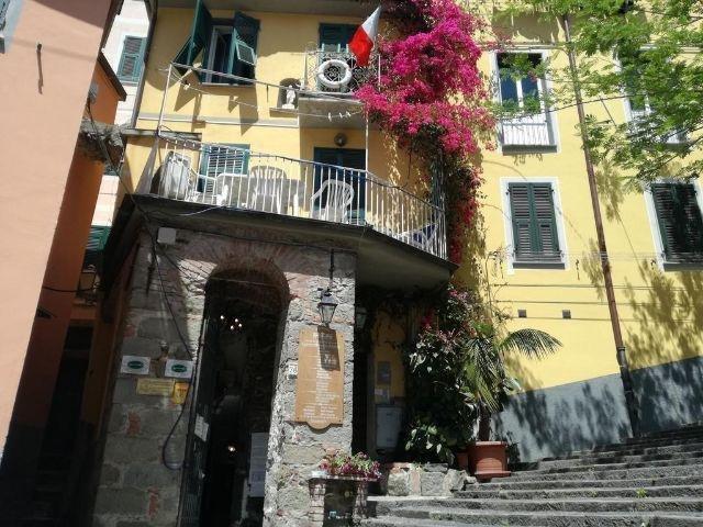 Riomaggiore - Hotel Ca 'dei Duxi - hotel aanzicht