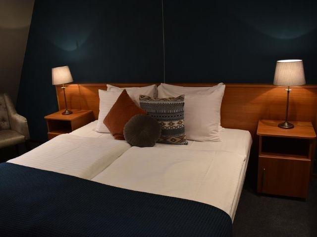 Stavoren - Hotel de Vrouwe van Stavoren - voorbeeld kamer