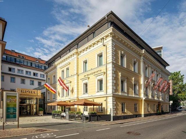 Klagenfurt am Wörthersee - Hotel Sandwirth - hotel aanzicht