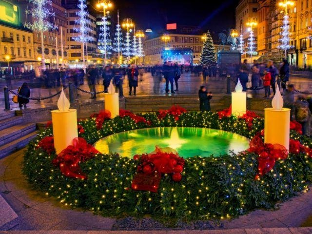 Kroatië - Zagreb - kerst