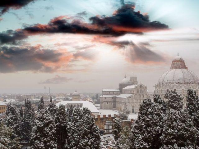 Italië - Pisa in de winter
