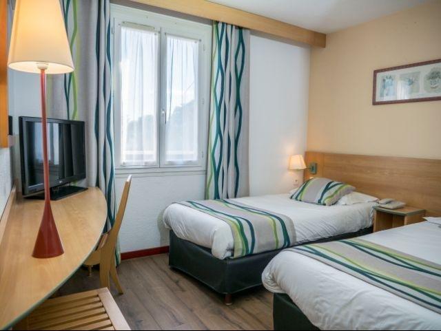 Frankrijk_Uzès_Hotel Uzes_voorbeeld kamer aparte bedden