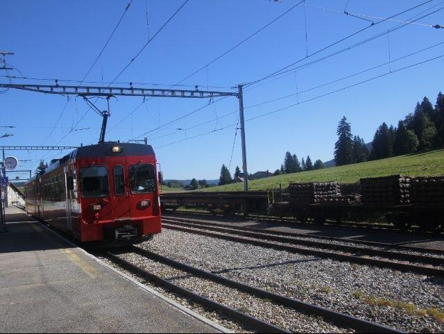 La Cure_treintje naar Nyon