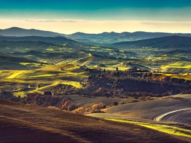 Toscane winter