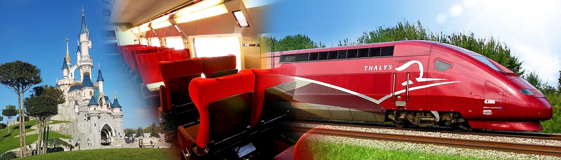 disney per trein landingspage