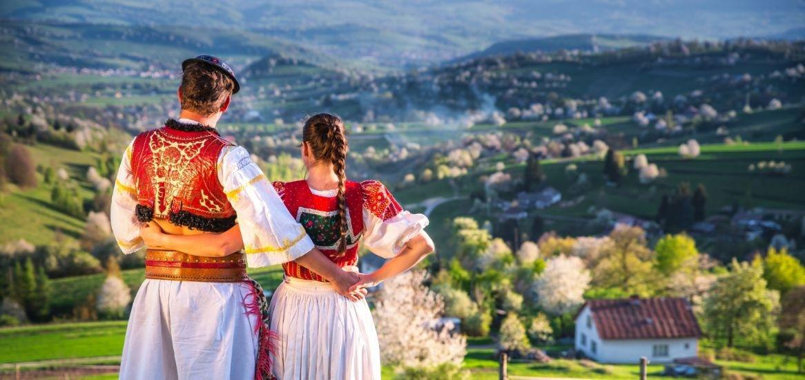 Traditionele kleding Slowakije