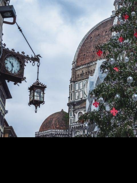 Italië - Florence - Sneeuw kerst