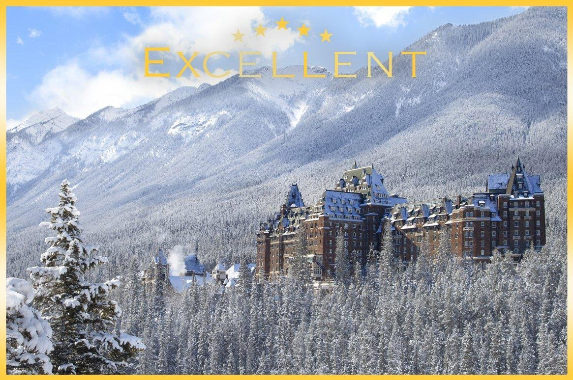 Wintersport Banff Fairmont Banff Springs *****