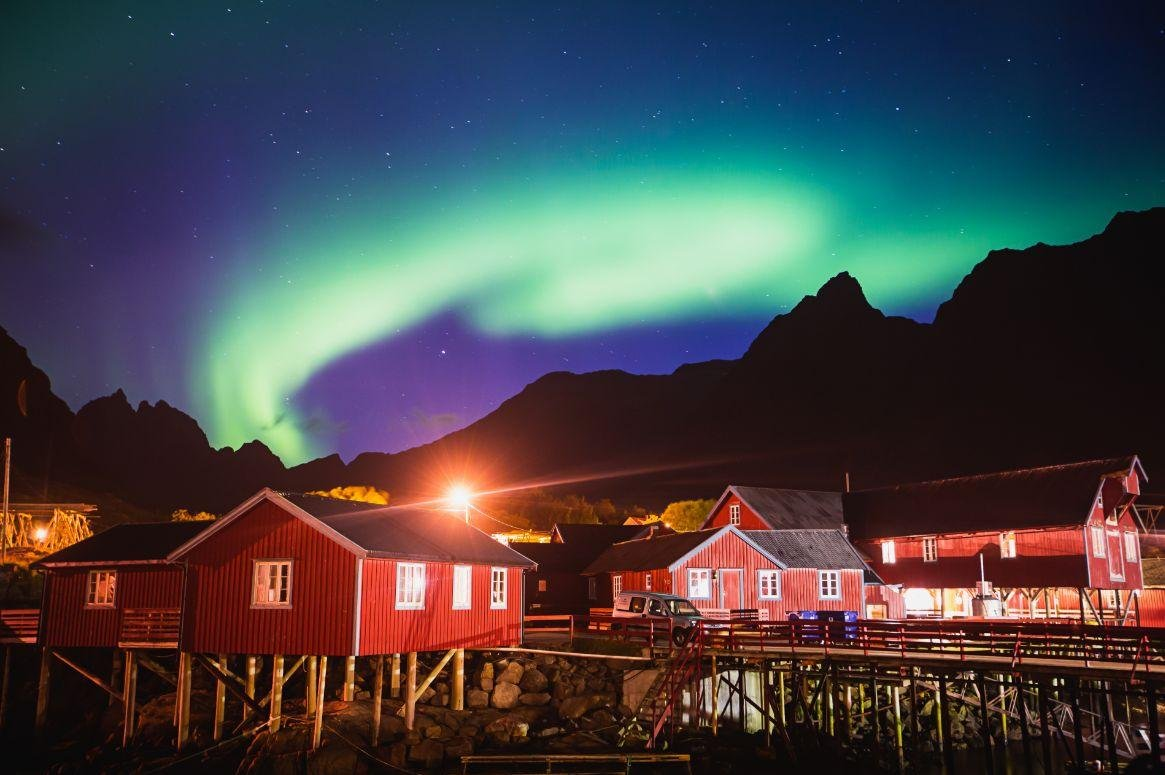 Rondreis Noorderlicht op de Noordkaap en de Lofoten