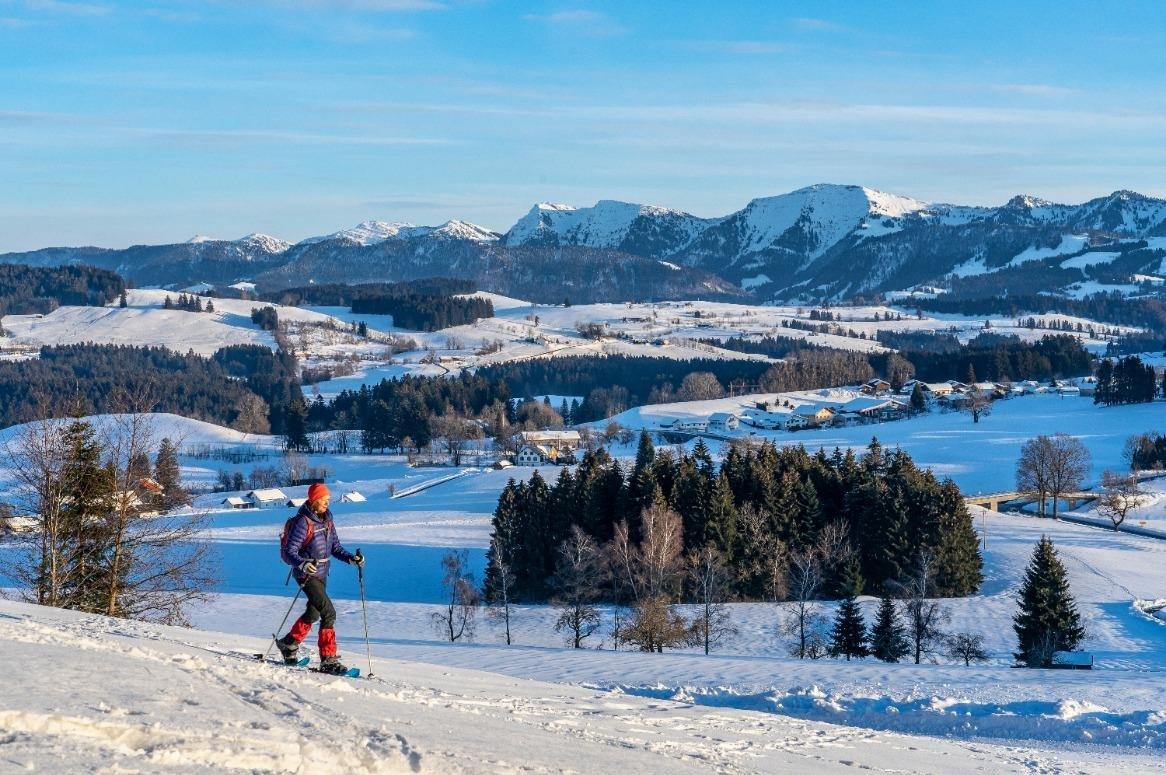 Langlaufen en wandelen door het Beierse Woud