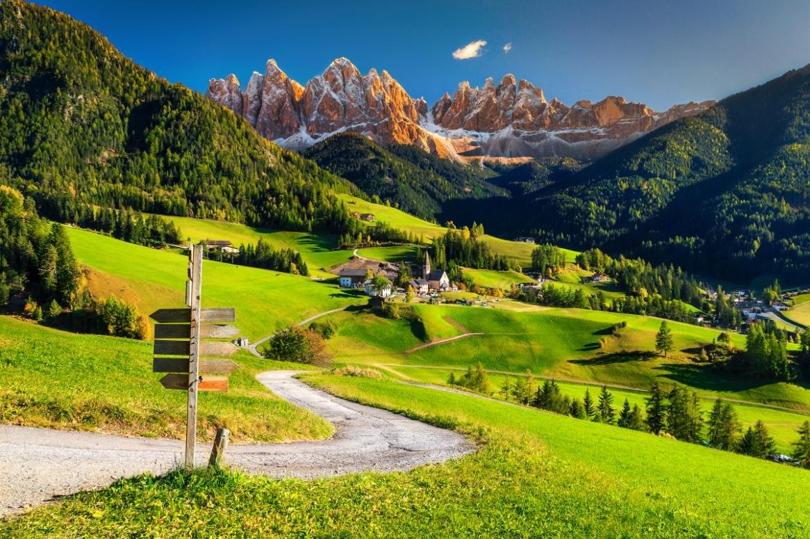 Busreis Natuurlijk Zuid-Tirol en Dolomieten