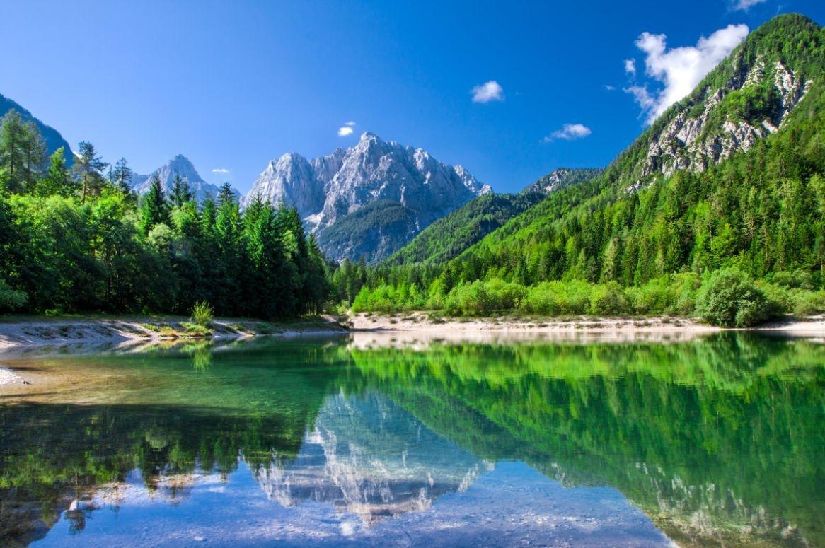 Slovenië - Jezero Jasna