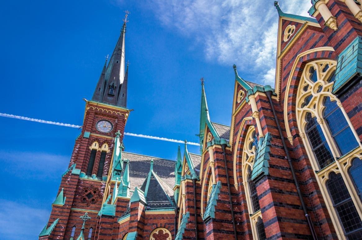 goteborg oscar fredrik kerk