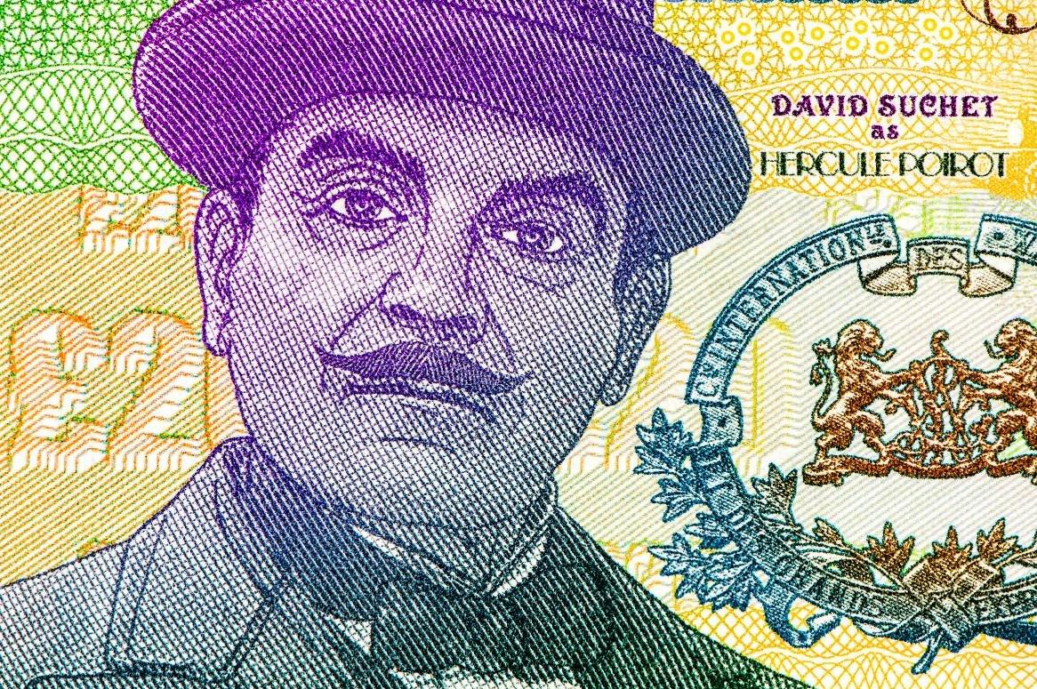 Hercule Poirot 20 pond